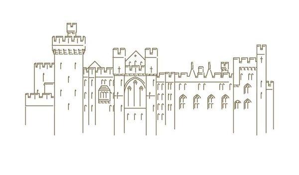 Logo for Arundel Castle, by Eighthdaydesign.com #logo #vector #castle #arundel