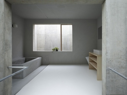 Architecture Photography: House in Koamicho / Suppose Design Office - CF059298 (49945) – ArchDaily #concrete #house #koamicho #suppose #in #design #office #bathroom #architecture #minimal