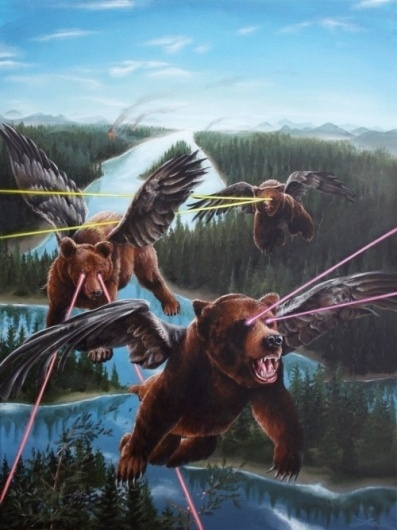 HeyScottYouRock!, I need this tattooed on me immediately. #bears #awesome #laser