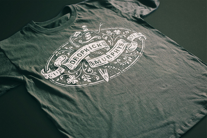 Forefathers group via www.mr-cup.com #dropkick #apparel #murphys #black #t-shirt