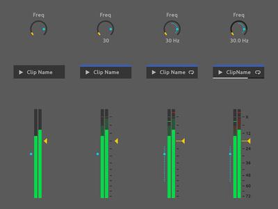 Ableton Live Redesign - Detail Level