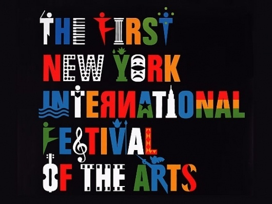 International Festival of the Arts | Chermayeff & Geismar #design #retro #graphic #color #vintage #york #new