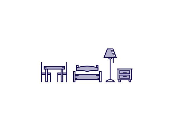 Furniture #icon #picto #symbol #sign
