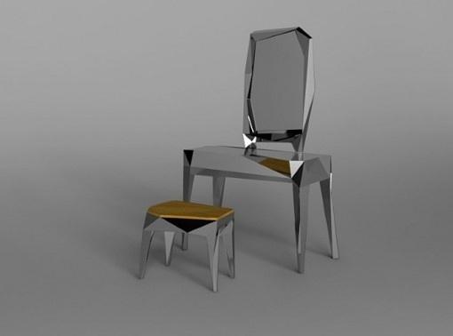 NTHN blog #chrome #mirror #furniture #design