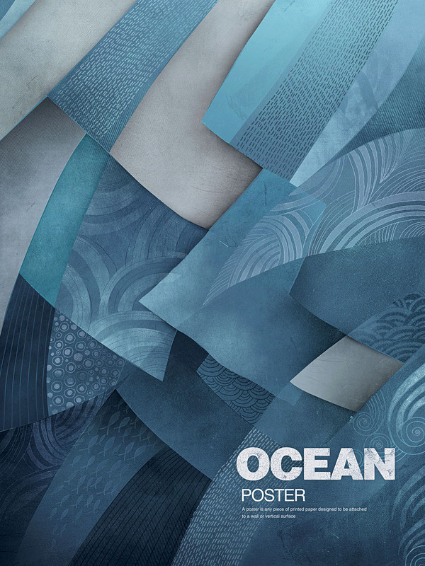 POSTERS on the Behance Network #ocean #poster