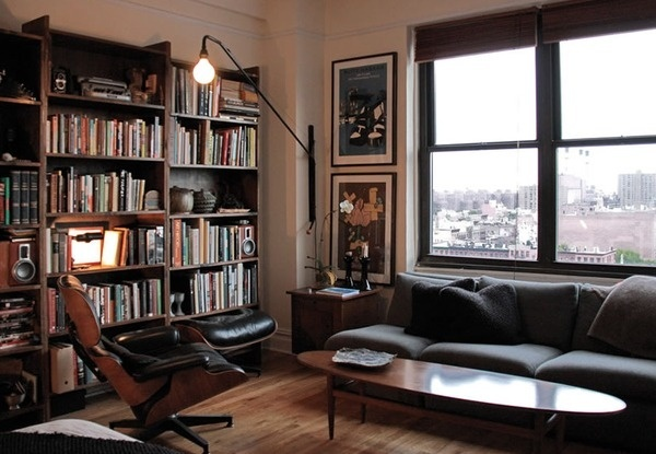 Amazing Interior by Workstead #interior #workstead #chair #living #lounge #room #eames