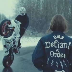 http://mowianamiescie.pl/wp content/uploads/2013/03/birdy.jpg #jacket #defiant #order #bike #videoclip #motorcycle