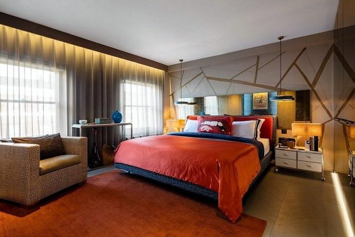 Marylebone Apartment Features Modern Gentleman's Club Style 9