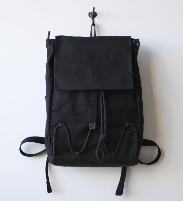 LayerXLayer Wayfarer Pack #layerxlayer #wayfarer #rope #black #backpack #pack