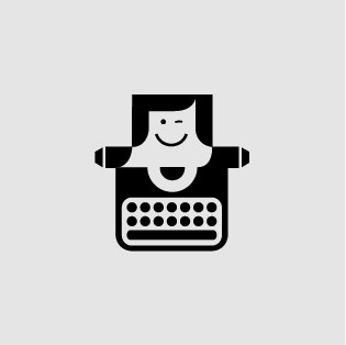 FFFFOUND! | Hellomatt #logo #smile #typewriter