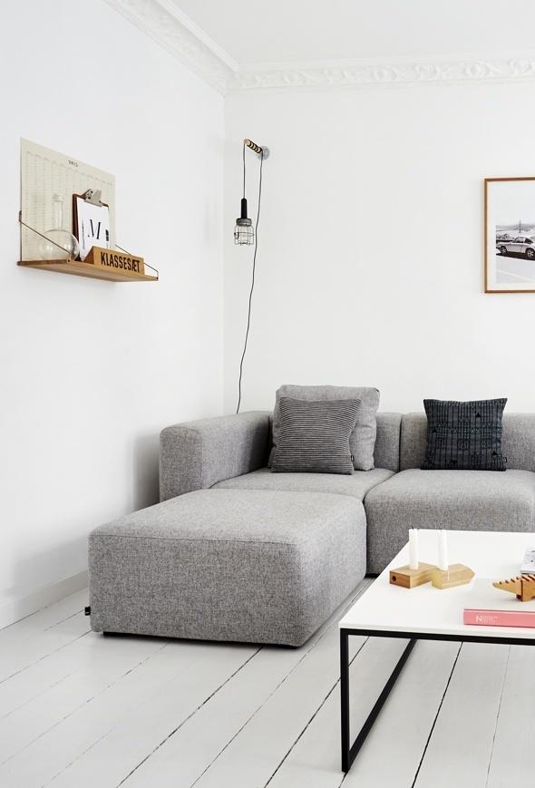 Apartment in Vesterbro. Photo by Klix Kommunikation. #apartment #klixkommunikation #interiordesign #minimalism