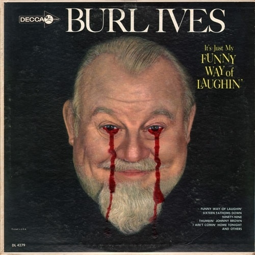 Deface Value #blood #ives #record #art #burl #humor