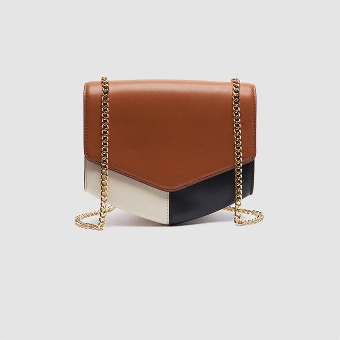 Lou Bag Medium Model : Bags color Noisette/Noir/Ecru