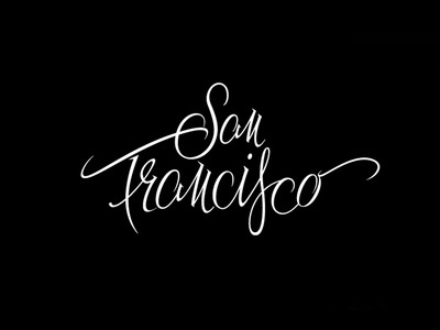 Dribbble - San Francisco by Type and Signs #lettering #typography