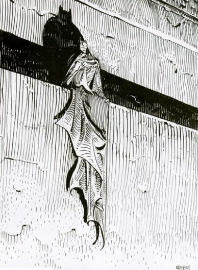 Subtraction.com #white #giraud #book #black #batman #comic #illustration #and #jean #moebius