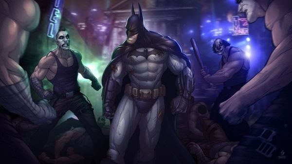 Patrick Brown illustrations {Part 2} #batman