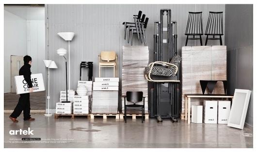 Artek: Shipping   Ads of the World™ #advertisement #furniture #finland #artek