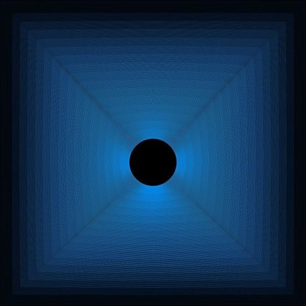 Dynamic Blue #optical #illusions