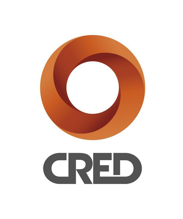 CRED #icon #logo #color #minimal