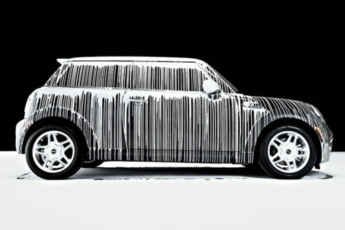 Merde! - Art (via edgina) #cooper #cars #art #mini