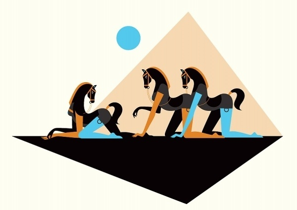 Lust Triangle - malikafavre #illustration