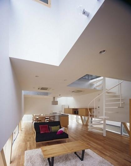 atelier A5: kg house #ceilings #light #architecture #interiors