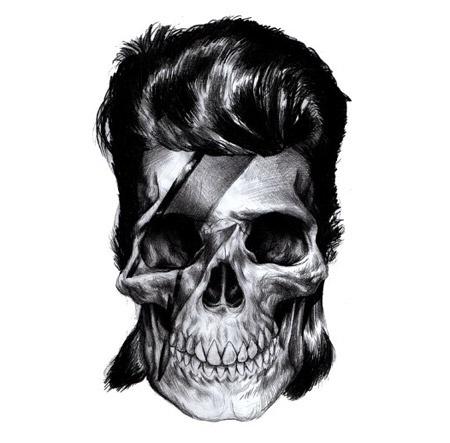 FFFFOUND! | Google Image Result for http://www.hautstyle.co.uk/wp-content/uploads/2010/10/macarthur_illustration.jpg #skull #lightning #mullet