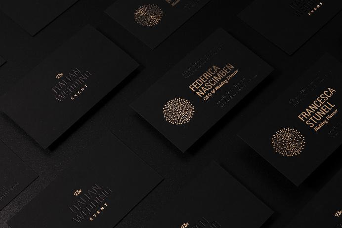 Branding for The Italian Wedding Event on Behance