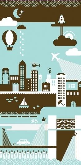 Des Moines Skyline by BasemintDesign on Etsy #basement #print #des #screen #moines #skyline