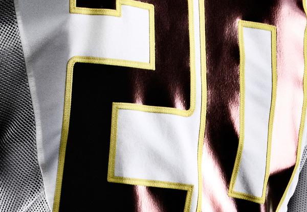 2012_Nike_Football_Oregon_Ducks_Uniform_Mesh_jersey close up #nike #uniform #football #oregon