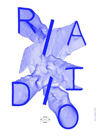 1 radioladio poster by côme de bouchony #come #de #bouchony