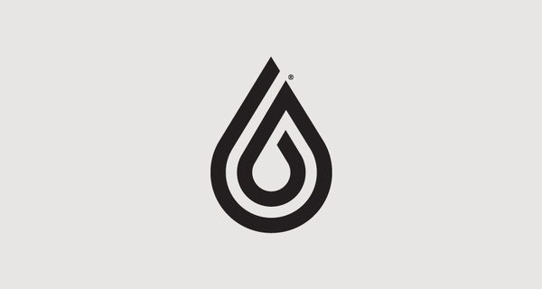 Watercooled Surfboards Logo, by A-Side #inspiration #creative #water #icon #design #graphic #drop #logo