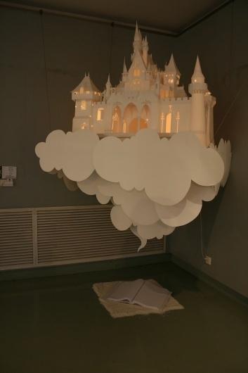 Toutes les tailles | 照片 189 | Flickr: partage de photos! #papercraft #castle #handmade