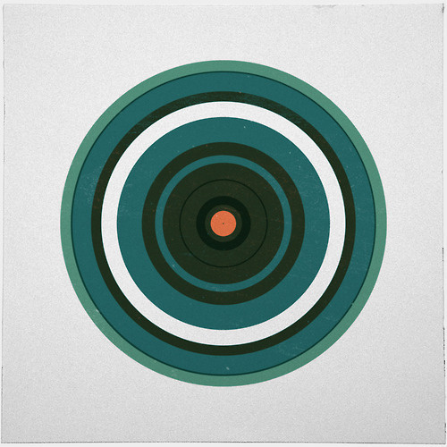 #222 Saturn – A new minimal geometric composition each day