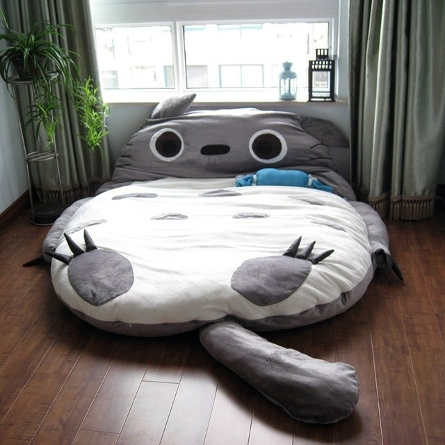 My Neighbor Totoro Bed #tech #flow #gadget #gift #ideas #cool