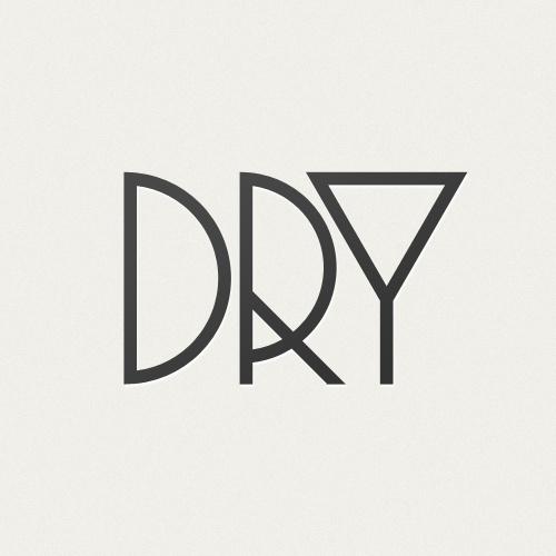 Claustrophobically Agoraphobic #logo #dry #martini