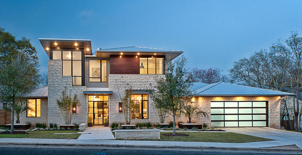 Luxury Home by Cornerstone Architects #architecture #house #modern