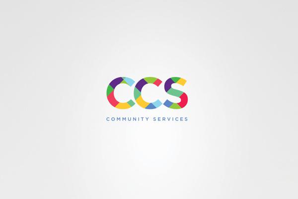 CCS Community Services #branding #direction #colors #identity #art #logo