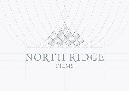Stylo Design - Design & Digital Consultancy - North Ridge Films #logo #guidelines #branding