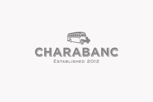 Charabanc Lomas Design #shop #design #lomas #identity #vintage #logo #charabanc