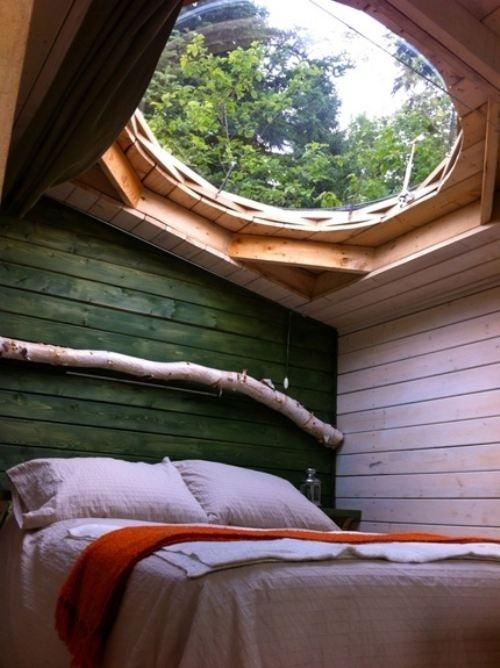bohemian living5 #interior #bedroom #roof #window #view