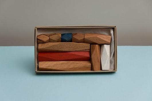 FPO: Studio Constantine Visual Identity Materials #wood #promo #blocks