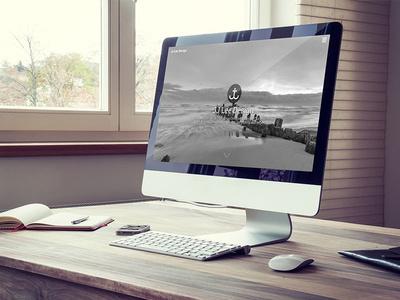 New Portfolio Site #mac #workspace