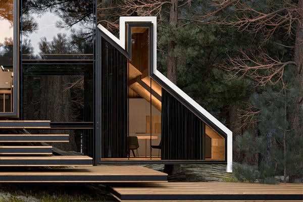 York House, an Architectural Masterpiece in the Woods – Fubiz Media