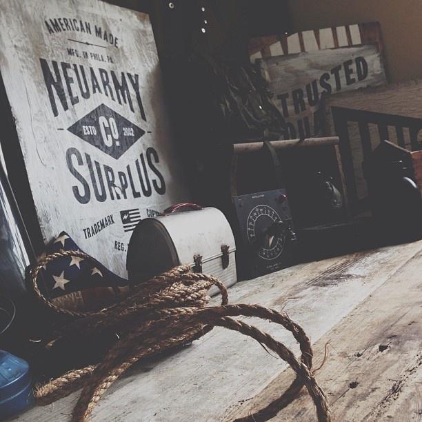 Photo shoot, gathering props. #neuarmysurplusco #hustle