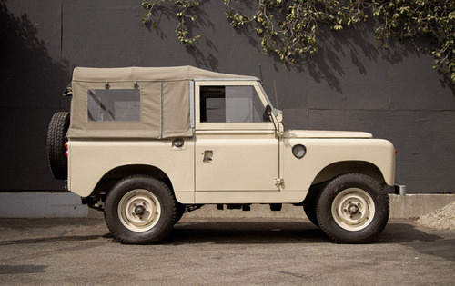 Taupe Rover. #land rover #off road