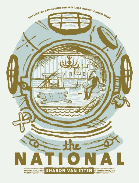 The National #diver #helmet #the #illustration #national