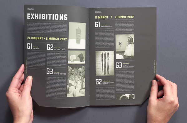 Craft Victoria Annual Report 2012 #layout