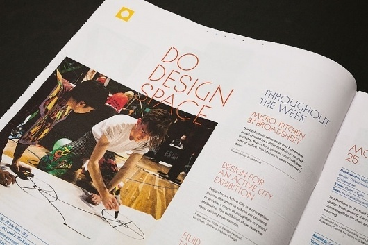 State of Design Festival 2011 | SouthSouthWest #font #branding #festival #newspaper #layout #typography