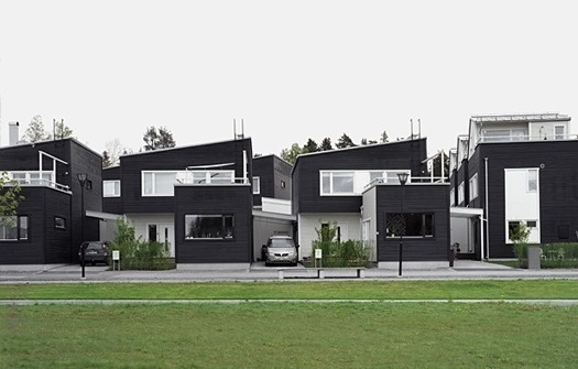 Anders Holmberg Arkitekter » housing #black #architecture #house #white